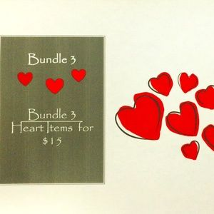 ❤ Bundle 3 ❤ Heart Items for $15 ❤